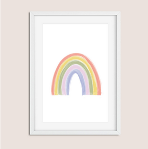 Rainbow Canvas Art Print