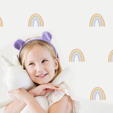 Load image into Gallery viewer, Rainbow Decal Set - Non-Toxic, Reusable, Repositionable
