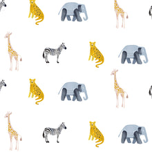 Load image into Gallery viewer, Safari Decal Set - Wall Decal - Non-Toxic, Reusable, Repositionable