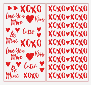 Valentine's Day Decals
