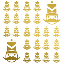 Load image into Gallery viewer, Mini Nutcracker Decals
