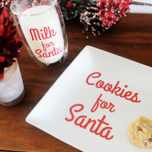 Load image into Gallery viewer, Cookies and Milk for Santa Decals