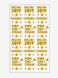 Happy New Year Decals