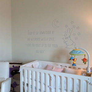 Peter Rabbit Decal