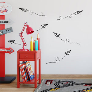 Paper Airplanes decals