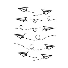 Load image into Gallery viewer, Paper Airplanes decals