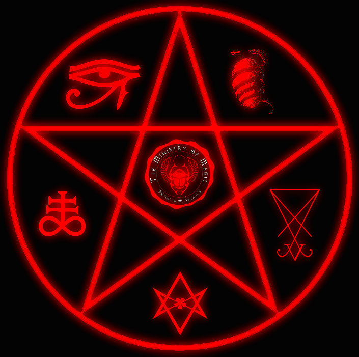 The Ministry Of Magic Occult Powers Magick Spells Sorcery