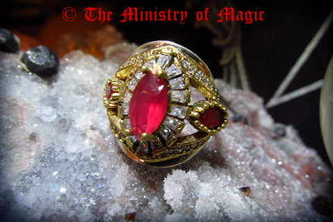 ANCIENT EGYPTIAN DREAM MACHINE *POWER *SUCCESS *MONEY *LOVE *MAGICK EMPOWERED RING