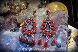 SENSATIONAL ULTIMATE POWERS OF GODDESS ISIS ENDLESS WISHES ENCHANTED EARRINGS Love Beauty Attraction Money Power