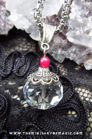 TANTRIC SEX POWER MAGNETISM Elite 69 Embedded Spellcast Crystal Pendant
