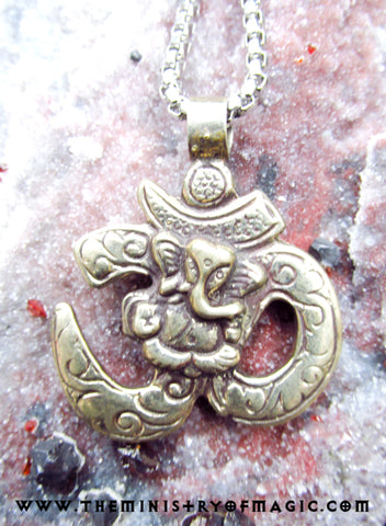 GANESHA WISH GRANTER SUPREME POWERS VINTAGE TALISMAN