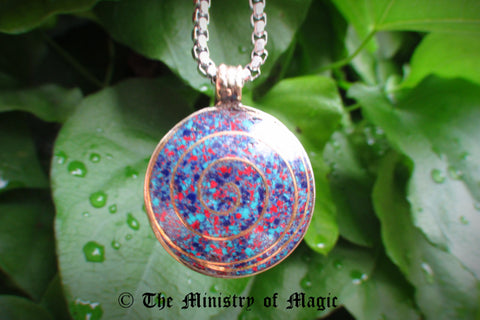 PSYCHIC AMPLIFIER TACHYON INFINITY FREQUENCIES PENDANT