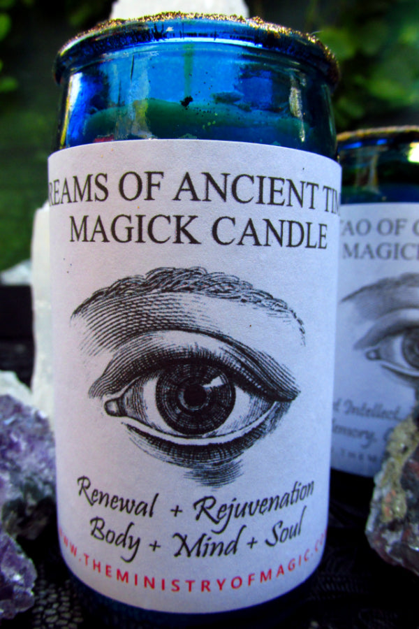 Dreams of Ancient Times Magick Candle