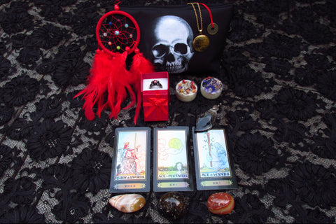 *BLACK MYSTIC SKULL* ENCHANTED COLLECTION