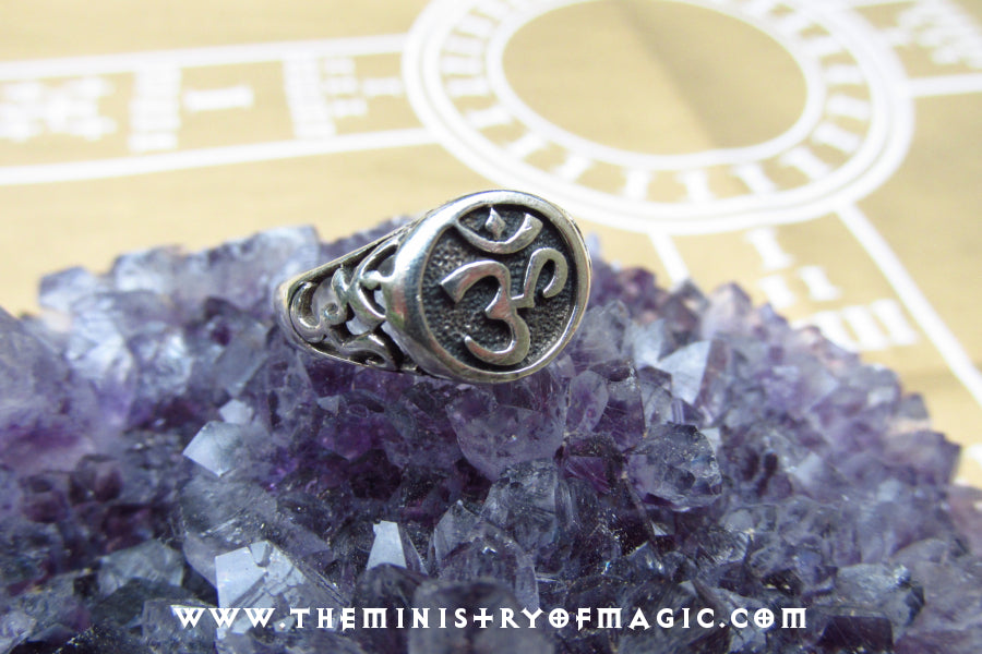 Sound of Creation Enchanted OM Talisman Ring