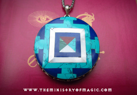 Celestial Bodhisattva Negative Energy Neutralizer Invincible Protection Amulet