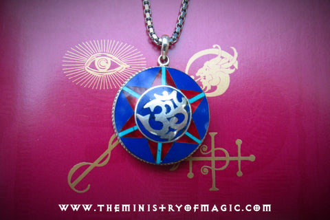 The Temple of Goddess Anumati Cosmic Millionaires Club Talisman Pendant