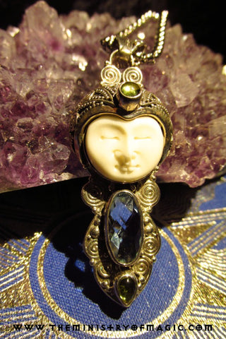 Celestial Moon Goddess Portal of Luck and Good Fortune