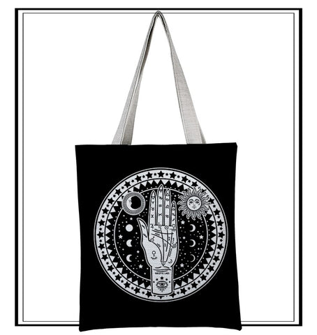 MYSTIC HAND OF FORTUNE Canvas Tote