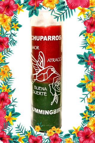 Chuparosa Hummingbird Relationship Prepared ~Power~ Candle