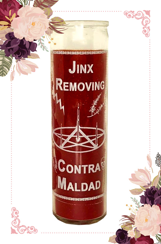Jinx/Hex Removing Prepared ~Power~ Candle
