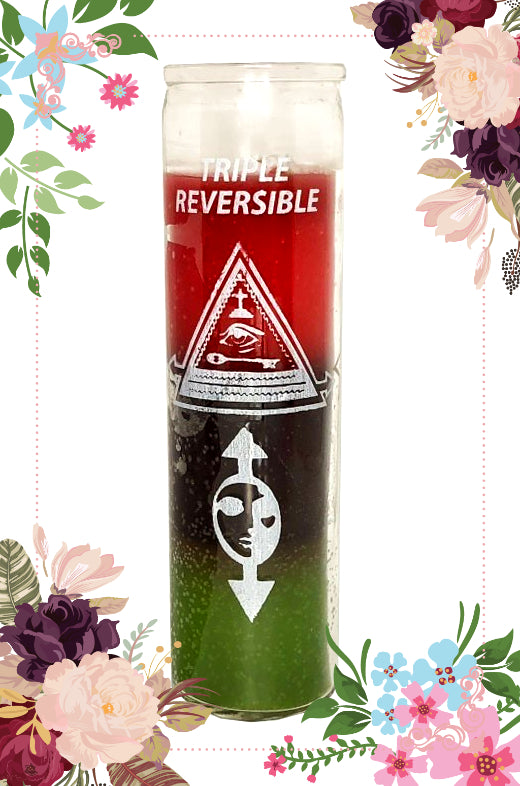 Triple Reversible Prepared ~Power~ Candle