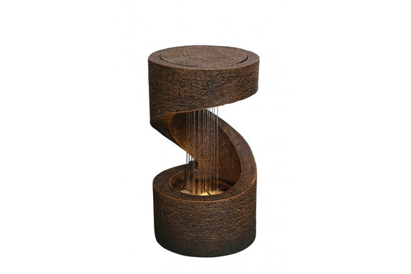 Tabletop Winding Showers Fountain