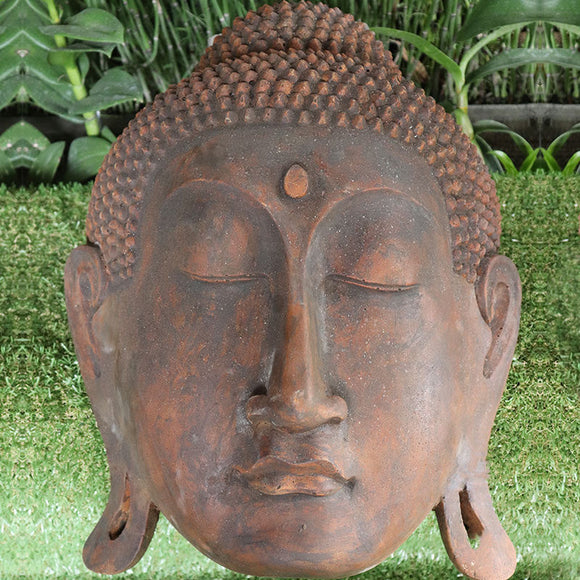 Buddha Head Plaque