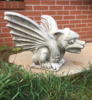 Gargoyle with Large Wings Statue
