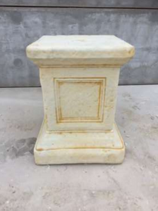 Concrete Jefferson Pedestal