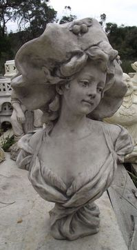 Lady with Big Hat Statue