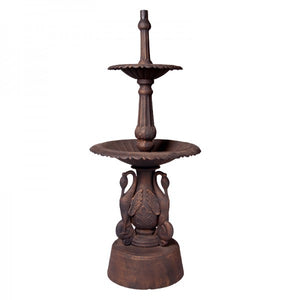 Two Tier Heron Fountain