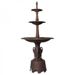 Three Tier Heron Fountain