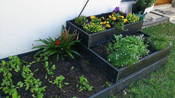 eWood Raised Garden Bed Kit