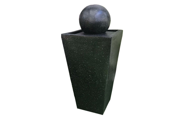 Ball With Column Solar Fountain