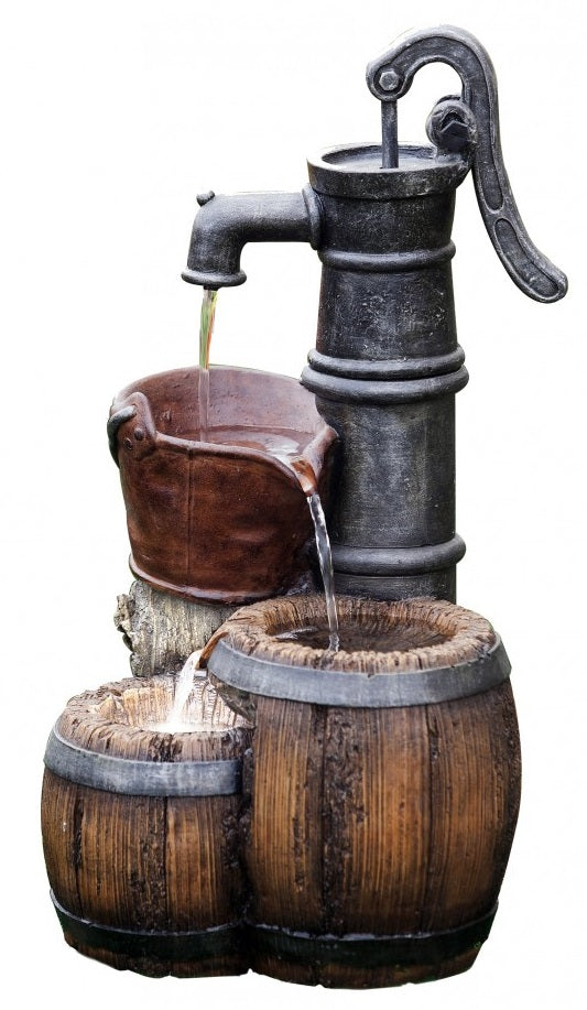 Barrel Pump Fountain
