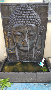 New Buddha Face Fountain