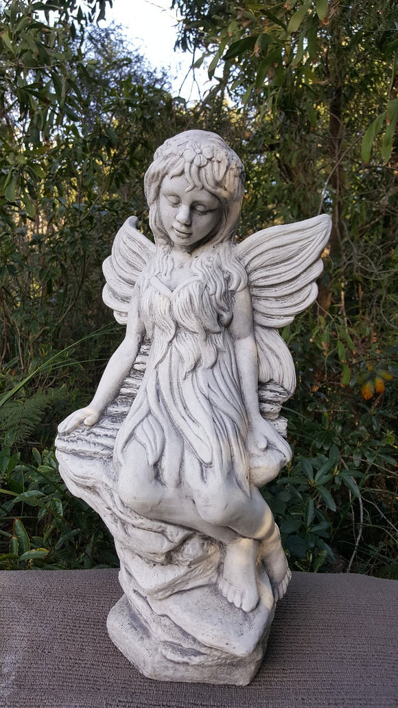 Large Fairy On Rocks