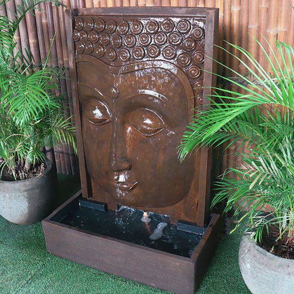 Modern Buddha Face Fountain