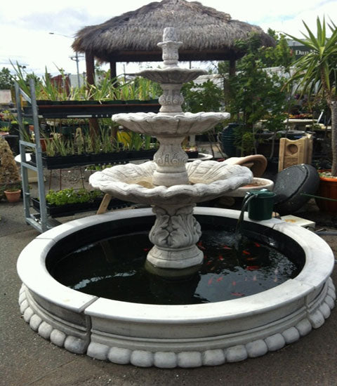 Three Tier Milano Fountain
