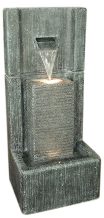 Polyresin Pillar Fountain