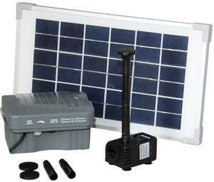 Reefe Solar Pump Kit with Battery Backup