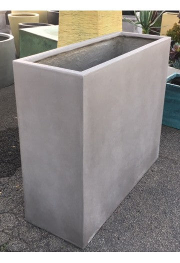 Tall Rectangle Planters