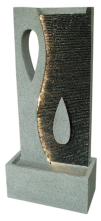 Teardrop/Yin Yang Fountain - Large