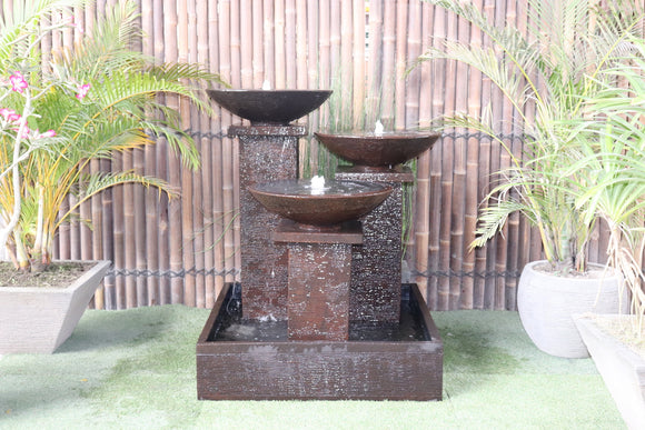 Triple Bowl Fountain