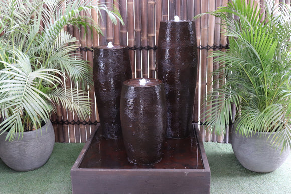 Triple Cigar Fountain