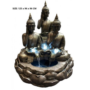 Triple Thai Buddha Fountain