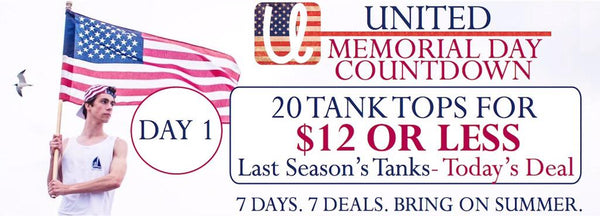 Memorial Day Countdown United Tees