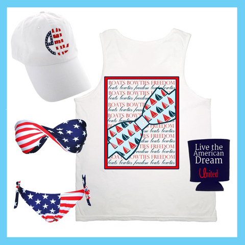 Ladies Summer 4th of July Outfit Suggestions