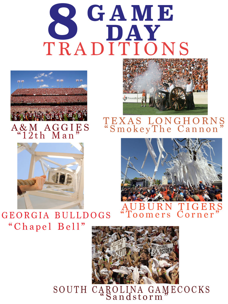 8 game day traditions